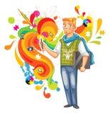 Konstnär-formgivare royaltyfri illustrationer