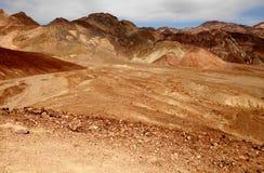 Konstnär Palette Death Valley Royaltyfri Fotografi