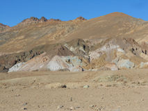 Konstnärdrev i Death Valley Royaltyfri Fotografi