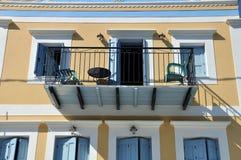 konstnärlig balkong Royaltyfri Foto