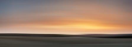 Konstnärlig effekt för bakgrundssuddighetsfilter av landskapbilden Arkivfoto