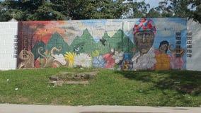 Konstnärlig evolution - Siguatepeque, Honduras CA royaltyfri illustrationer
