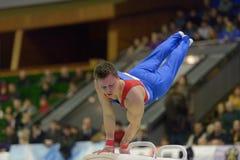 Konstnärlig gymnastik Royaltyfria Foton