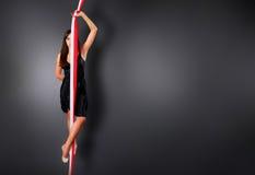 konstnärlig gymnastik Royaltyfria Bilder