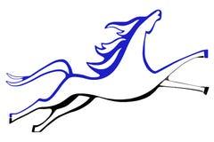 konstnärlig häst Arkivfoto