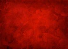 Konstnärlig hand målad mång- i lager röd bakgrund stock illustrationer
