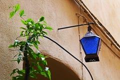 konstnärlig lampa Arkivfoto