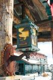 konstnärlig lamppost Royaltyfri Bild