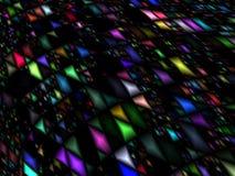Konstnärlig mångfärgad bakgrund för abstrakt advertizing Arkivbilder