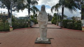 Konstnärlig monument till modern - Siguatepeque, Honduras CA royaltyfri foto