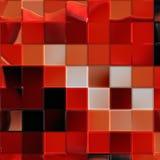 konstnärlig röd tegelplatta vektor illustrationer