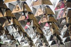 Konstnärlig stil - stads- abstrakt texturbakgrund för din design Arkivbilder