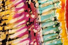 Konstnärliga blandade färger Fotografering för Bildbyråer