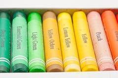 Konstnärliga pastell arkivbilder