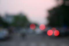 konstnärliga röda klickblurs Royaltyfria Bilder