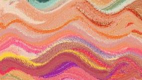 Konstnärligt abstrakt begrepp för baner för bakgrundsfärgvåg Royaltyfri Bild