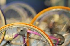 Konstnärligt cykla Arkivbild