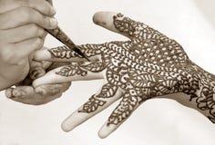 konstnärligt handarbete Arkivbild