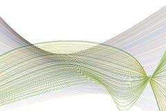 Konstnärligt linje- & för kurvbakgrundsmodell abstrakt begrepp Stil, tapet, illustration & digitalt stock illustrationer
