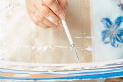 Konstnärmålarfärgerna med olja arkivfoton