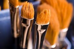 konstnärmakeuphjälpmedel Royaltyfri Fotografi