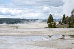 KonstnärPaintpots Yellowstone nationalpark, Wyoming Royaltyfria Foton