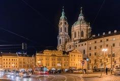 KonstNouveau byggnad i Prague Royaltyfri Foto