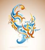 konstnärlig swirl Royaltyfria Foton