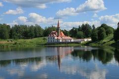 Konstruerat för den ryska storslagna prioryen av beställningen av St John, presenterades den till beställningen av ett dekret av  Royaltyfria Bilder