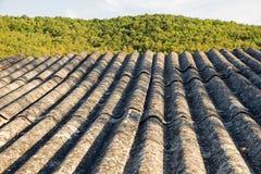 Konstruiertes Dach-Material-Asbest Stockfoto