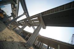 Konstrukcja wiadukt obraz stock