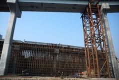 Konstrukcja wiadukt zdjęcia stock