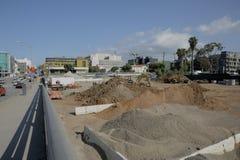 Framtida Santa Monica posterar Royaltyfria Foton
