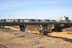 Konstruktion April 2019 för Waverley gatagångtunnel arkivfoton