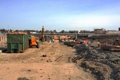 Konstruktion April 2019 för Waverley gatagångtunnel arkivfoto