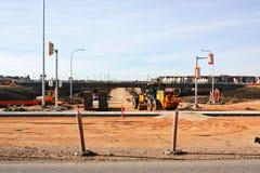 Konstruktion April 2019 för Waverley gatagångtunnel royaltyfri bild