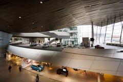 Konstruktion av BMW världsmuseet Royaltyfria Foton