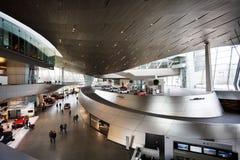 Konstruktion av BMW världsmuseet Arkivfoto