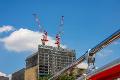 Konstruktion av byggnader Royaltyfri Foto