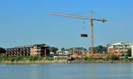 Konstruktion av den nya grannskapen Royaltyfri Foto