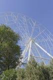 Konstruktion av pariserhjulen 65 meter i Rostov-On-Don Royaltyfria Foton