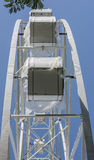 Konstruktion av pariserhjulen 65 meter i Rostov-On-Don Arkivfoton