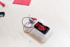 Konstruktion av robotar för barn` s Arkivfoto