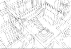 konstruktion för 10 bakgrund Royaltyfri Fotografi