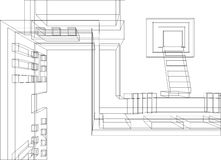 konstruktion för 2 bakgrund Arkivfoton