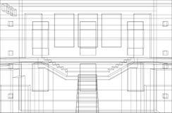 konstruktion för 7 bakgrund Royaltyfria Bilder