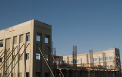 konstruktion för byggnad 3 under arkivbilder
