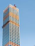 Konstruktion för 432 Park Avenue Arkivbild
