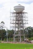Konstruktion för vattentorn som lagrar vatten Royaltyfria Bilder