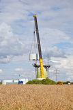 Konstruktion för vindturbin Royaltyfri Fotografi